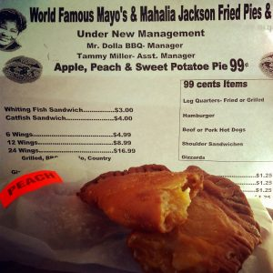 fried pie menu