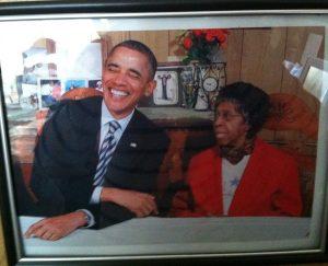 Obama Mrs. Eason